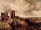 Famous Castle Paintings - Hadleigh Castle