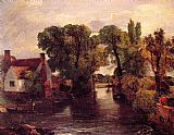 Famous Stream Paintings - Mill Stream