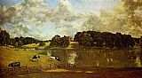 John Constable Wivenhoe Park Essex painting