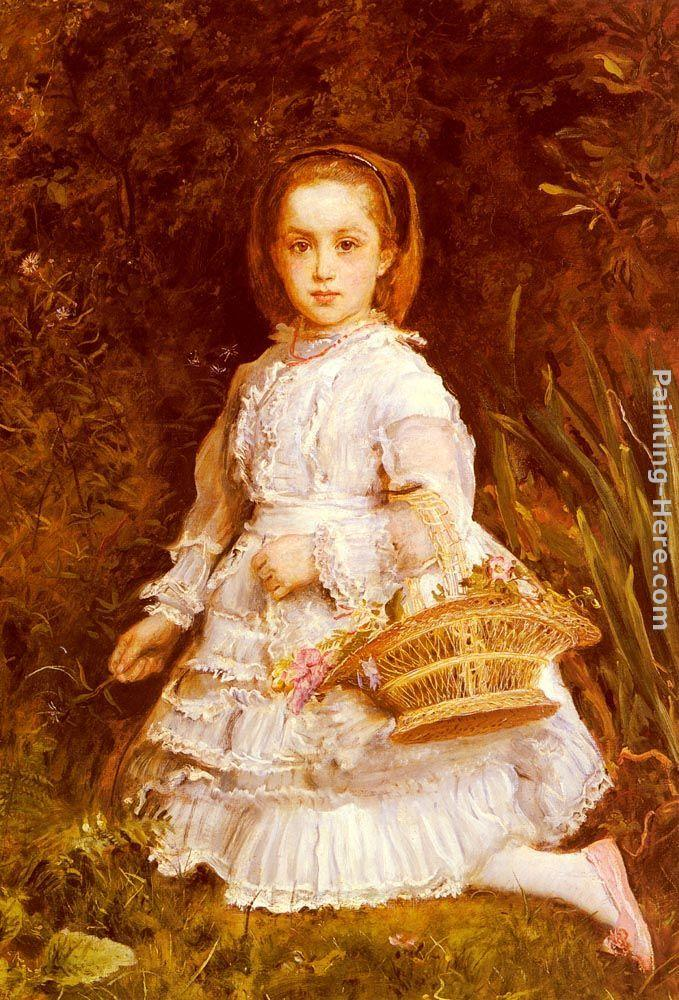 John Everett Millais Portrait Of Gracia Lees