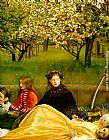 John Everett Millais - Apple Blossoms Spring detail I