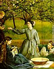John Everett Millais - Apple Blossoms Spring detail II