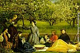 John Everett Millais - apple blossoms spring