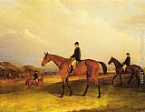 John Ferneley Snr - A Jockey On A Chestnut Hunter