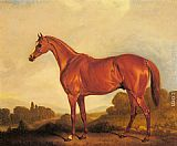 John Ferneley Snr - A Portrait of the Racehorse Harkaway, the Winner of the 1838 Goodwood Cup