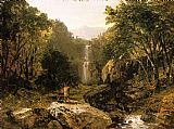 Famous Mountain Paintings - Catskill Mountain Scenery
