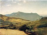John Frederick Kensett View of Mount Mansfield painting