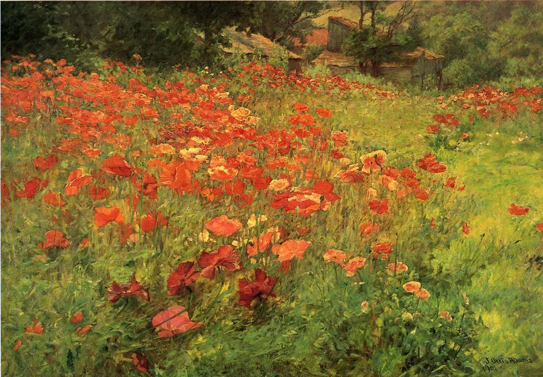 John Ottis Adams In Poppyland
