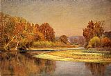 John Ottis Adams - Sycamores on the Whitewater