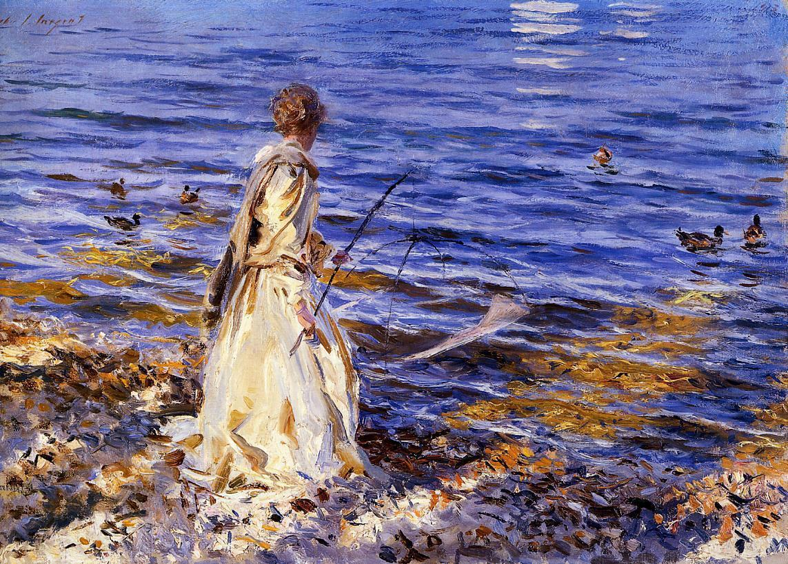 John Singer Sargent Girl Fishing