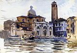 ice Canvas Paintings - Palazzo Labbia Venice