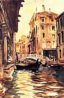 del Canvas Paintings - Ponte della Canonica