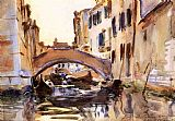 Famous Canal Paintings - Venetian Canal