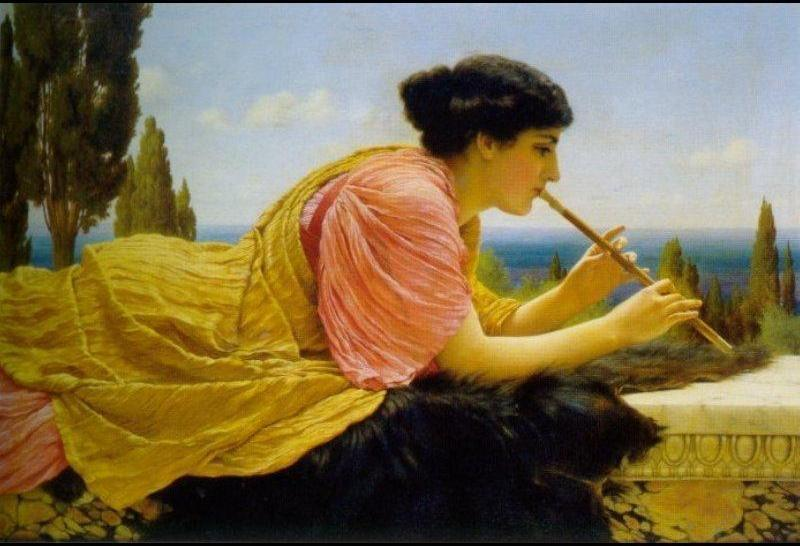 John William Godward A Melody