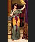Famous Lady Paintings - A Pompeian Lady