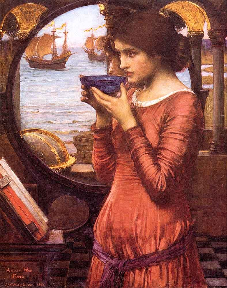 John William Waterhouse Destiny 1900