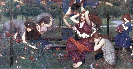 John William Waterhouse Flora and the Zephyrs