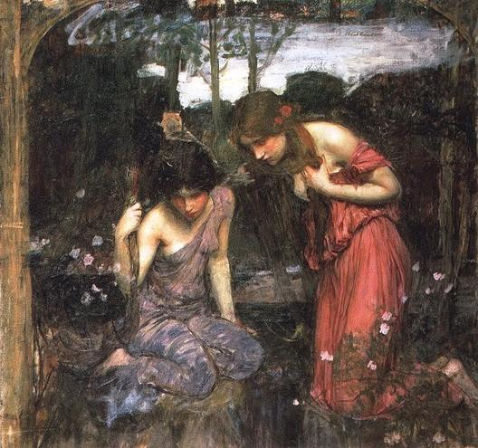 John William Waterhouse Nymphs Finding the Head of Orpheus