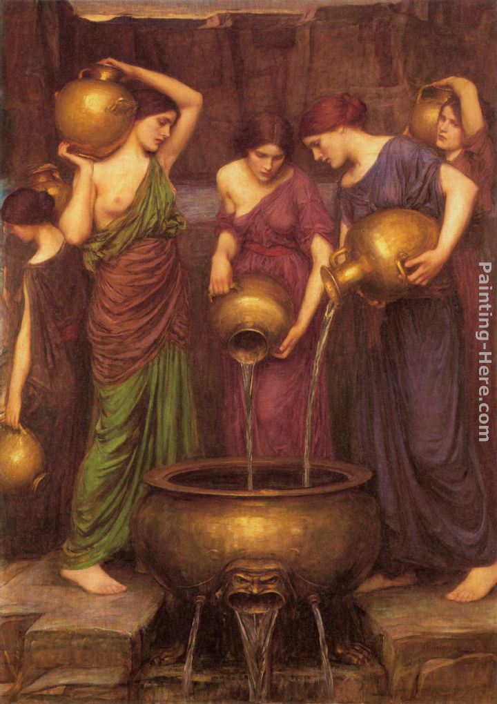 John William Waterhouse The Danaides