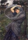 John William Waterhouse Famous Paintings - Boreas