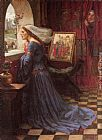 John William Waterhouse Fair Rosamund painting