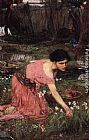 John William Waterhouse Wall Art - Flora ii