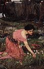 John William Waterhouse Flora painting