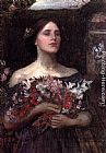 John William Waterhouse Wall Art - Gather Ye Rosebuds