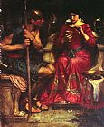 son Canvas Paintings - Jason and Medea