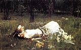 John William Waterhouse Famous Paintings - Ophelia