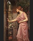 Garden Canvas Paintings - Psyche Entering Cupid's Garden