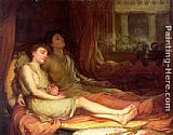 John William Waterhouse Wall Art - Sleep and His Half Brother Death