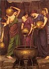 John William Waterhouse Wall Art - The Danaides