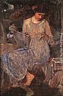John William Waterhouse Wall Art - The Necklace