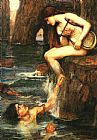 John William Waterhouse Famous Paintings - The Siren