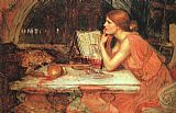 John William Waterhouse The Sorceress painting