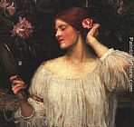 John William Waterhouse Wall Art - Vanity