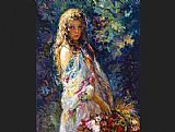 Jose Royo Famous Paintings - El Paseo