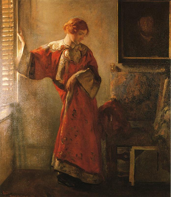 joseph decamp the window blind painting framed paintings for sale. Black Bedroom Furniture Sets. Home Design Ideas