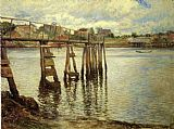 Joseph DeCamp - Jetty at Low Tide aka The Water Pier