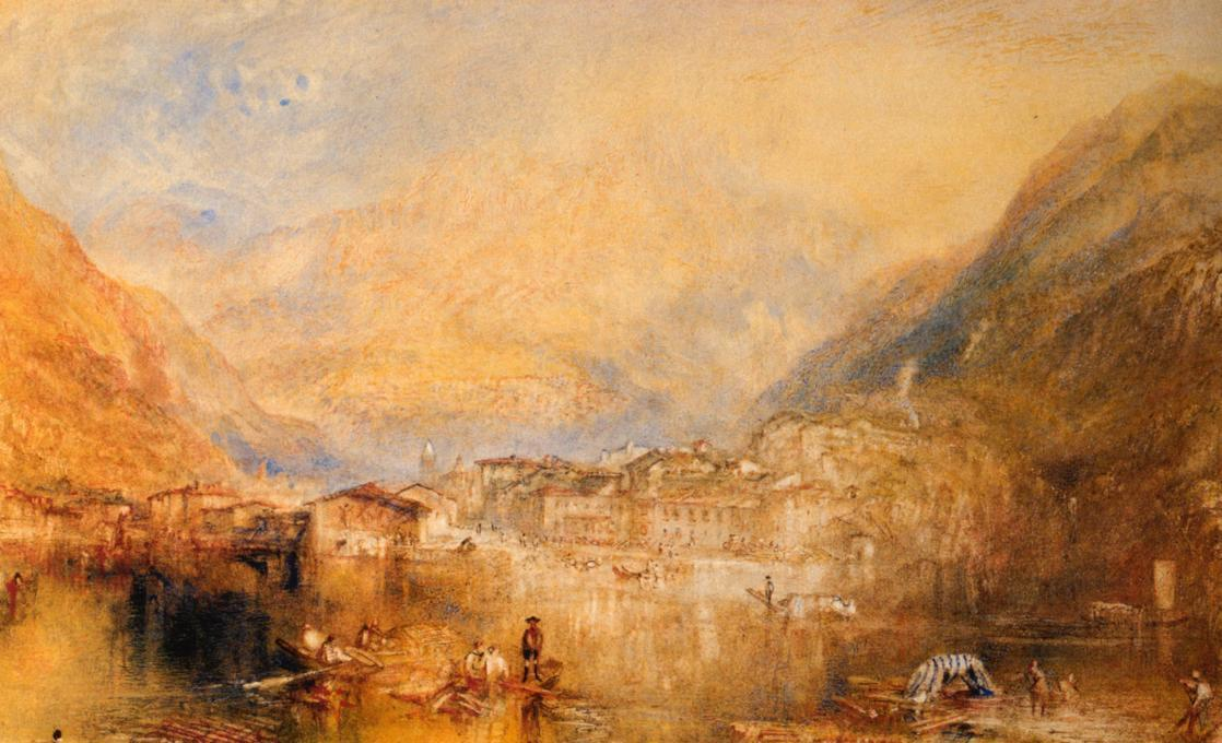 Joseph Mallord William Turner Brunnen from the Lake of Lucerne