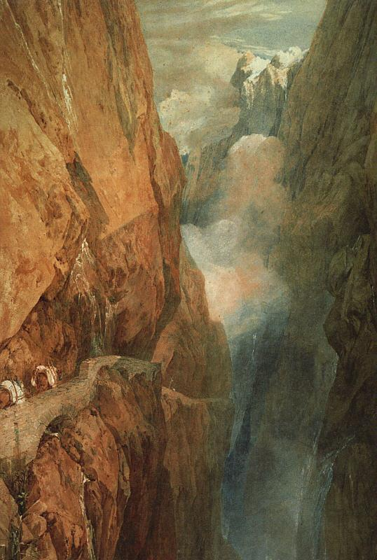 Joseph Mallord William Turner The Passage of the St. Gothard