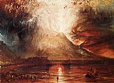 Joseph Mallord William Turner Eruption of Vesuvius painting
