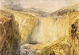 Joseph Mallord William Turner Fall of the Trees Yorkshire painting