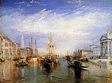 Famous Canal Paintings - The Grand Canal Venice