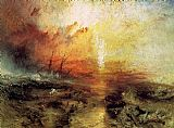Joseph Mallord William Turner The Slave Ship painting