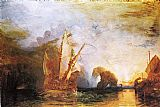 Joseph Mallord William Turner Ulysses Deriding Polyphemus Homer's Odyssey painting