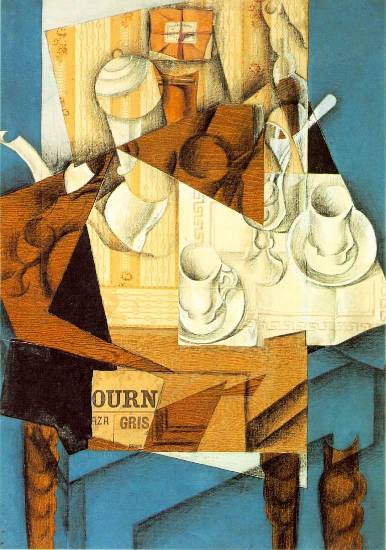 Juan Gris Violin And Guitar Painting Framed Paintings