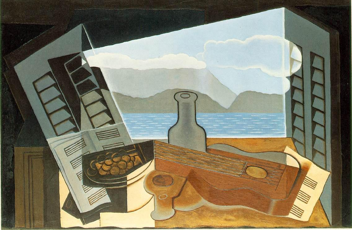 Juan Gris The Open Window