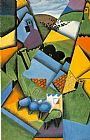 Juan Gris Landscape with Houses at Ceret painting